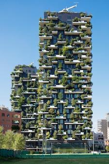 Grattacielo bosco verticale.