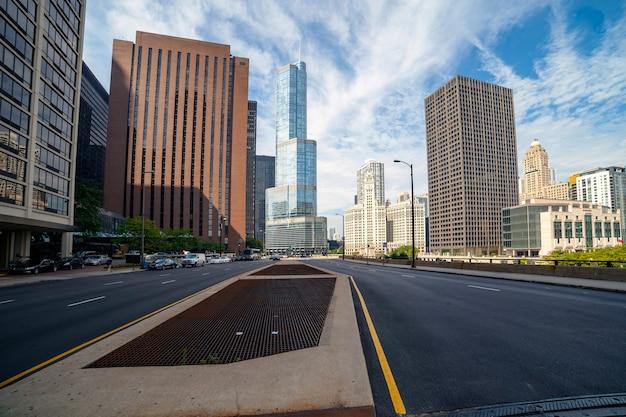 Grattacieli nel centro di chicago