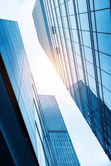 I grattacieli del centro finanziario, shanghai, cina