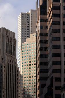 Grattacieli dal centro di san francisco, in california