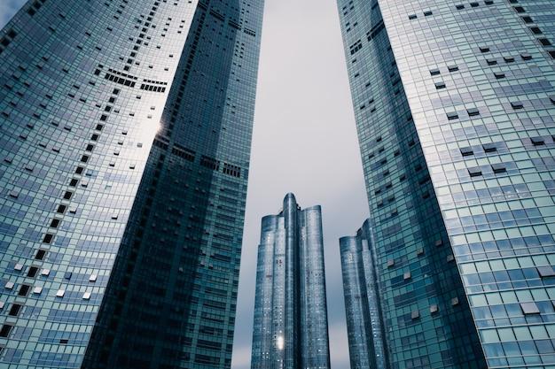 Grattacieli a new york primo piano di edifici alti