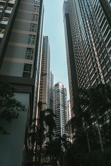 Grattacieli in vietnam vie della città moderna