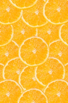 Sfondo arancione a fette
