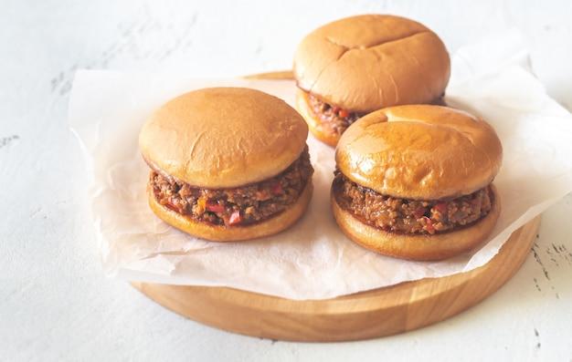 Sloppy joe - american sandwich