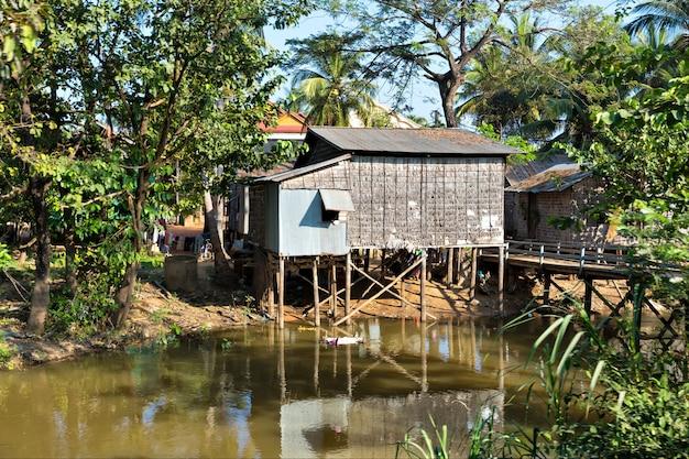 Baraccopoli in cambogia