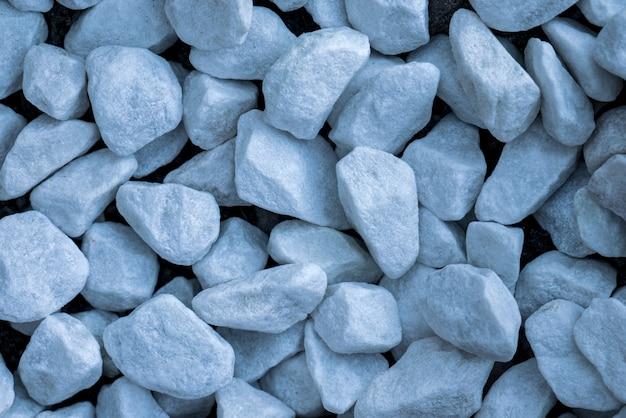Piccole pietre di marmo blu fondo decorativo di struttura