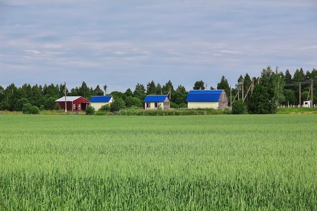 Il piccolo villaggio in bielorussia