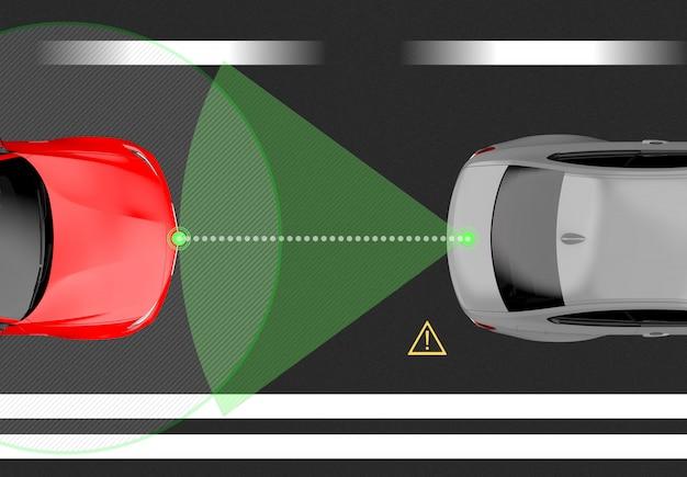 Sensore per auto intelligente