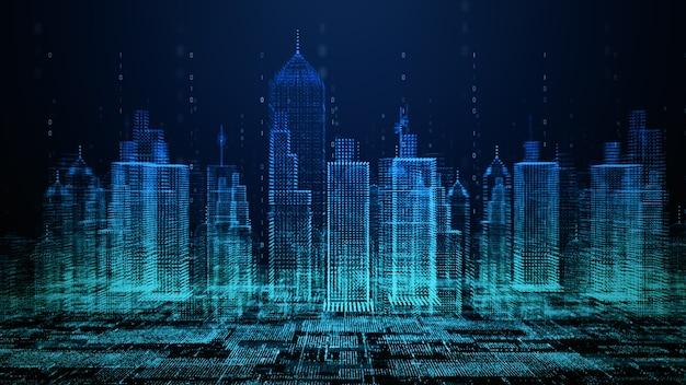 Connessione alla rete tecnologica della città intelligente