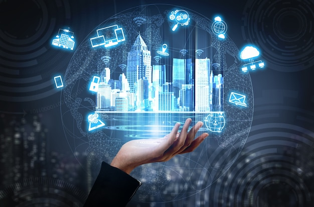 Rete di comunicazione wireless per città intelligenti