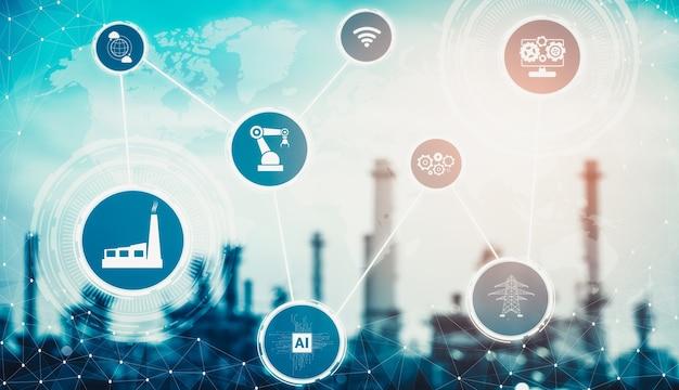Fabbrica intelligente per la quarta rivoluzione industriale