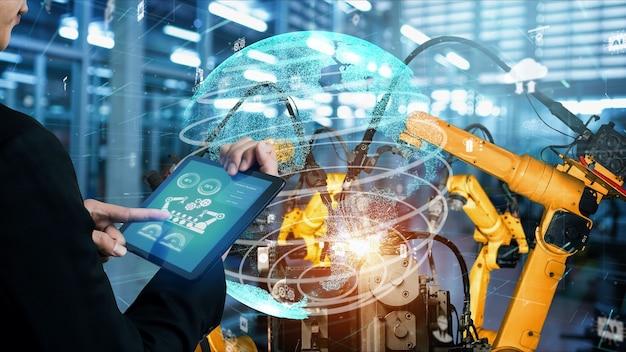 Modernizzazione di bracci robotici industriali intelligenti per la tecnologia delle fabbriche digitali