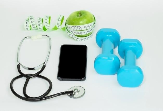 Stetoscopio per manubri con metro a nastro per smartphone
