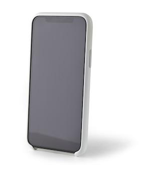 Smartphone isolato su sfondo bianco