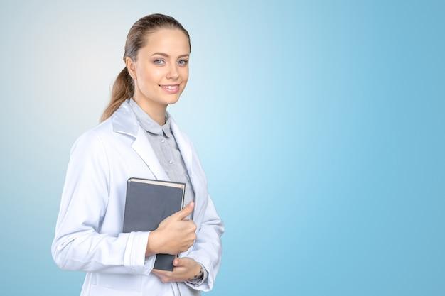 Dottoressa sorridente