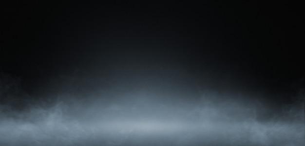 Fumo su sfondo scuro concreat