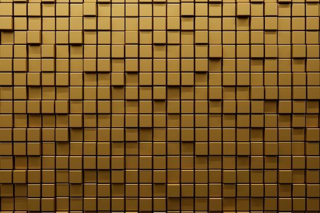 Materiale strutturato dorato liscio
