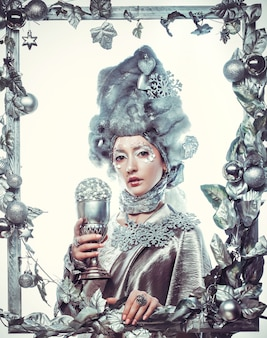 Regina delle nevi .