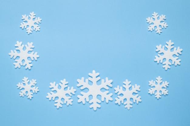 Modello di fiocchi di neve
