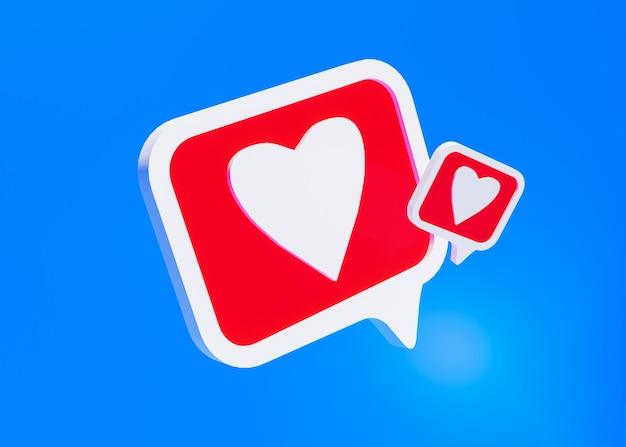 Icona dei social media, come il simbolo sul blu