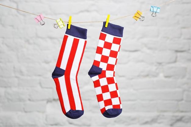 Calzini con la bandiera della croazia