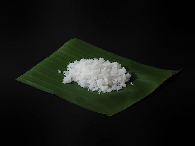 Cloruro di sodio o sale da cucina per cucinare