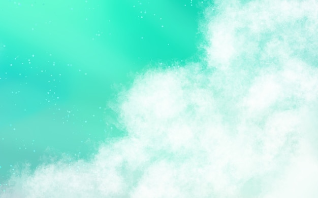 Sfondo di nuvole morbide