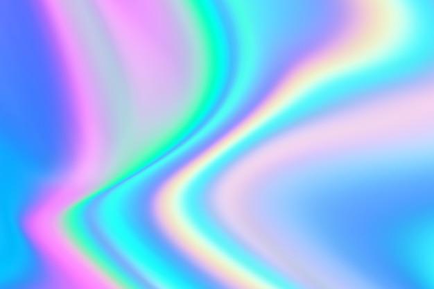Morbido con sfondo astratto contemporaneo di colore iridescente