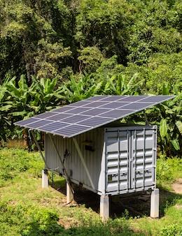 La cella solare è adatta per l'uso nella giungla