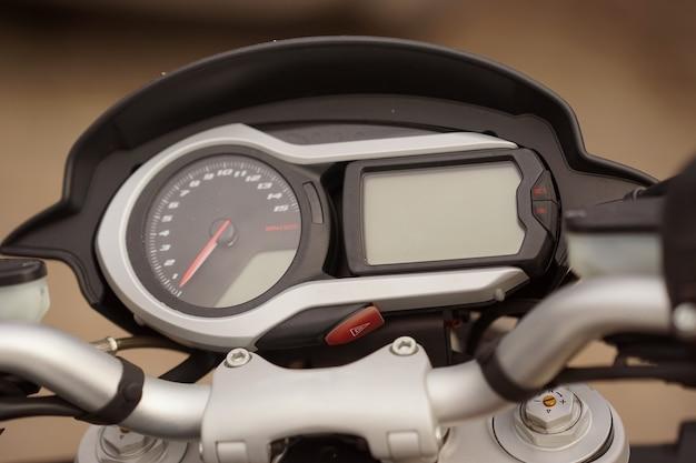 Alcuni dettagli della motocicletta