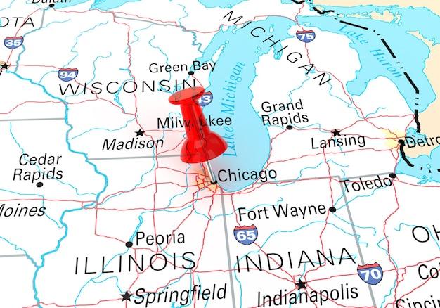 Mappa di origine: http://www.lib.utexas.edu/maps/united_states.html#usa rendering 3d