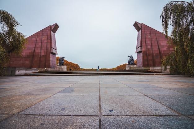 Memoriale sovietico di guerra a berlino, germania.