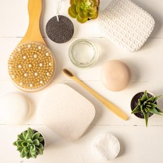Spa, cosmetici di bellezza e concetto di trattamento per la cura del corpo