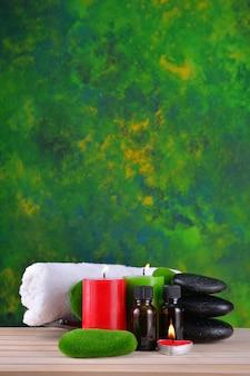 Trattamento spa. essenza di aromaterapia