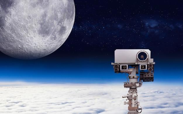 Elementi di esplorazione dello spazio di questa immagine fornita dall'illustrazione della nasa d