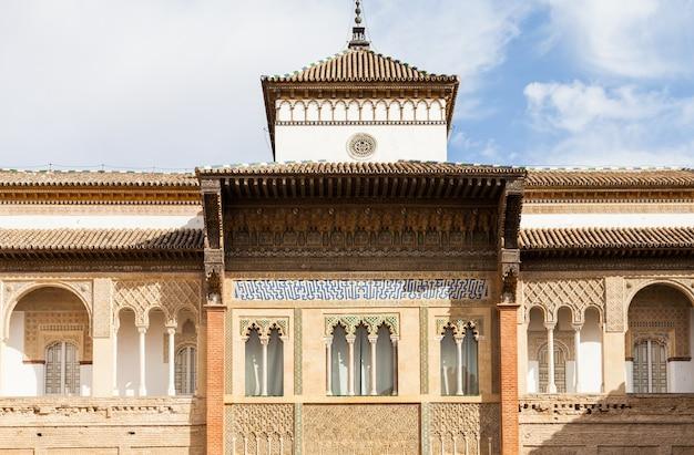 Spagna, regione dell'andalusia. dettaglio dell'alcazar royal palace di siviglia.