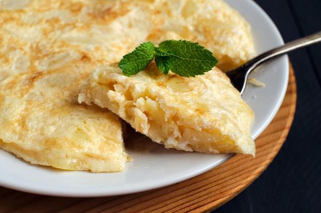 Frittata spagnola con patate e uova