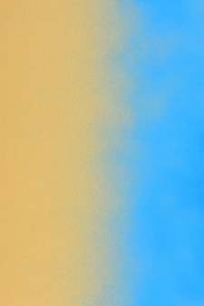 Texture spary sullo spazio colore crema