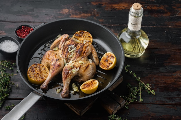 Pollo e erbe aromatiche