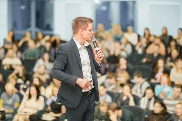Relatore alla convention aziendale