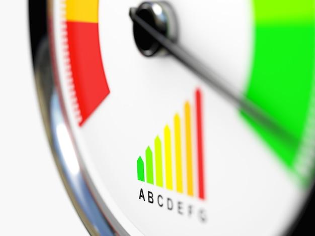 Tachimetro efficienza energetica