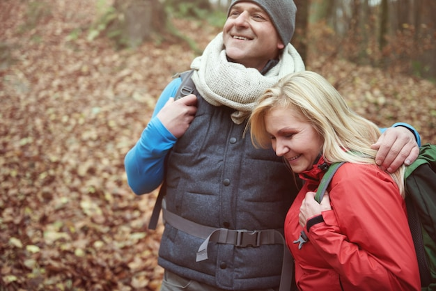 Trascorrere dei bei momenti insieme durante le escursioni