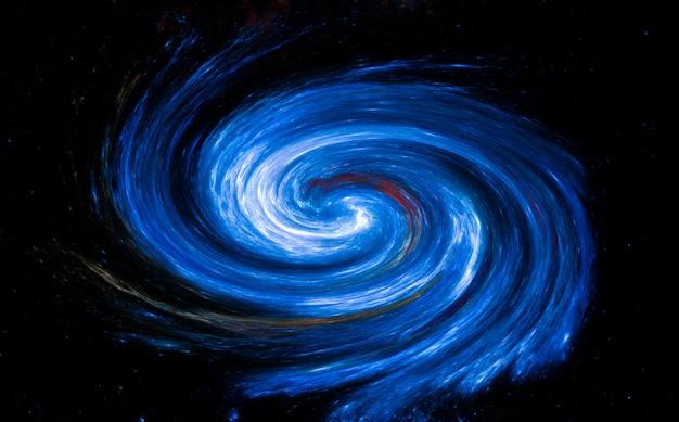 Galassia a spirale, sfondo del campo stellare. spazio esterno sullo sfondo