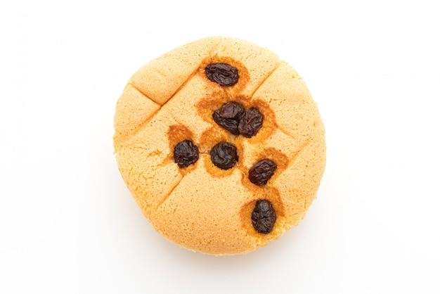 Pan di spagna con uvetta