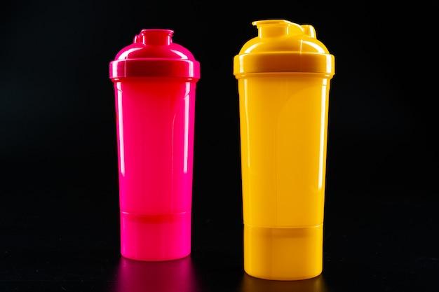 Bottiglia di sport per bevanda da vicino