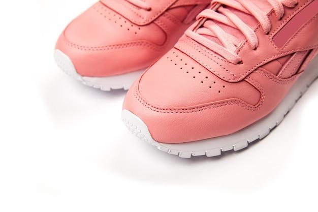 Sneakers sportive in pelle.