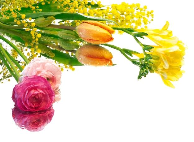 Spring floral backgrund