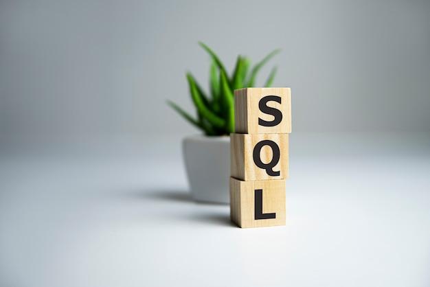 Testo sql structured query language