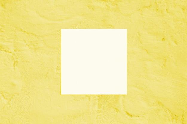 Mockup di carta quadrata.