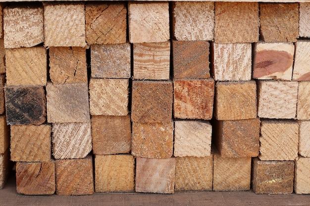 Bastoni quadrati di legno impilabili zoom